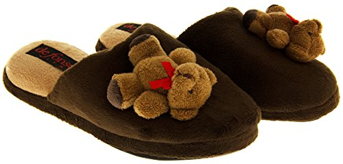 On Slip Slippers 6 Slipper Size Novelty 4 3 Womens Ladies 8 Mule 7 Comfy 5 Mules XR7PAqn
