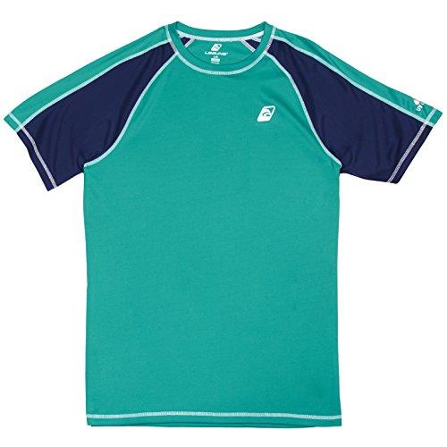 Guard Green T-shirt - Laguna Men's UPF 50+ Lifeguard Loose-Fit Rashguard, Green, M