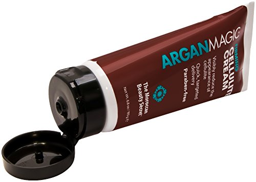 ARGAN Magic Firming Cellulite Cream - Formula Enriched with Cinnamon and Caffeine to Reduce Cellulite and Skin Dimples (6.8 Ounce/193 (Cellulite Formula)
