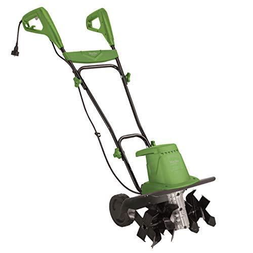 Martha Stewart 13.5-Amp 16-Inch Electric 6-Tine 3-Position Garden Tiller/Cultivator, Bay Leaf Green