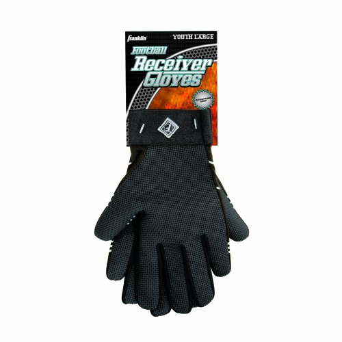 Franklin Sports Youth Receiver Gloves (Large)
