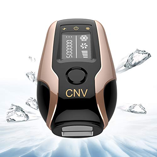 CNV Permanent Hair Removal For Women & Men Integrated 3 In 1 WPL & ICE Cool & Beauty 500,000 Flashes Facial & Body Home Use (Best Permanent Hair Removal Method)
