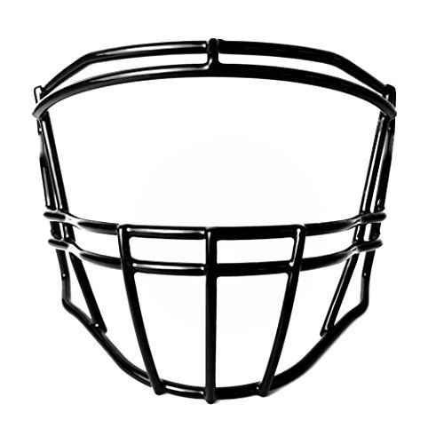 Green Gridiron Riddell SpeedFlex SF-2BD Black Facemask (Riddell Face Mask)