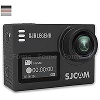 Action Camera,iDeep SJ6 LEGEND 4K Wifi Sports Action Camera 2.0 inch Touch Screen Sports Video Camera Novatek NT96660 16MP Underwater Waterproof Digital Camera