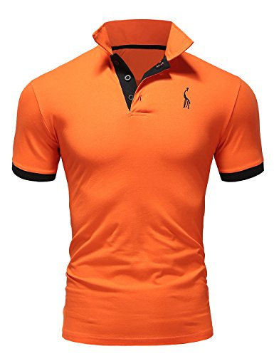 レンジパンフレットキャラバンポロシャツ メンズ 半袖  カジュアル スポーツウェア ゴルフウェア 無地 通気性 吸汗 夏 polo ファッション カッコイイ Tシャツ 全7色