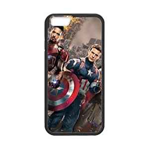 iPhone 6 4.7 Inch Cell Phone Case Black Captain America ukju