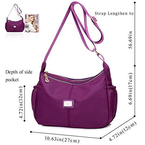 women's crossbody bags Cheap Shoulder Bag Stylish Ladies Messenger Bags Purse and Handbags by ACLULION (Image #2)