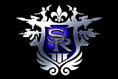 CGC Huge Poster - Saints Row 3 The Third Logo Ps3 Xbox 360 PC