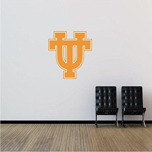 Tennessee Volunteers NCAA USA Symbol Logo College Sport Art Wall Decor Sticker 21'' x 23''