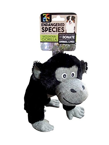 Endangered Species European Home Designs Gorilla Dog Toy