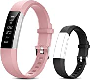 BIGGERFIVE Fitness Tracker Watch for Kids Girls Boys Teens, Activity Tracker, Pedometer, Calorie Counter, Slee