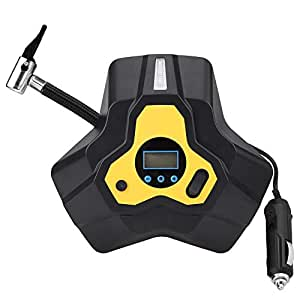 Zerone Inflador Portatil para Ruedas 12V 120W, 40L / min Inflador Neumaticos Coche Digital,