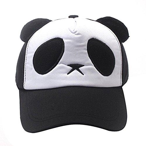 Hop Flat Hat Panda Noir Hip Marché Enfant Réglable De Confortable Garçons Bon Mignon Casquette Cool Chapeau Filles Coton Soleil Baseball Adeshop qFTgUwn