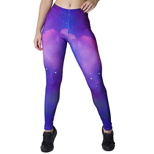 Calça Feminina Legging Sublimada Stars