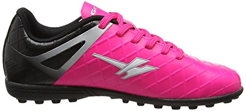 Gola Talos Vx, Zapatillas de Fútbol para Niños Rosa (Pink/black/silver)