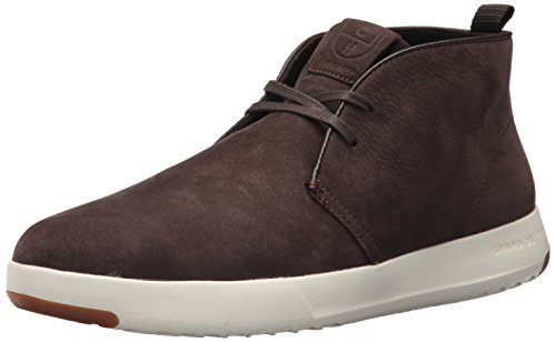 Casual Chukka Mens (Cole Haan Men's Grandpro Chukka, Java Nubuck with Herringbone Lining, 11 Medium US)