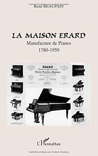 Télécharger La Maison Erard Manufacture De Pianos 1780
