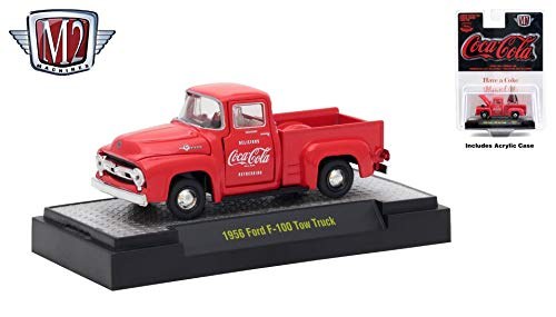 M2 Machines 1956 Ford F-100 Truck Limited Edition Coca-Cola for sale  Delivered anywhere in USA