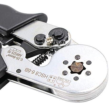 Amazon.com: Mini Mexx Crimping Tool hsc8 6-6 6-4 Crimper kablo kesici Pliers Cable Crimp Tools plier Wire Cutter alicate crimpador alicates: Kitchen & ...
