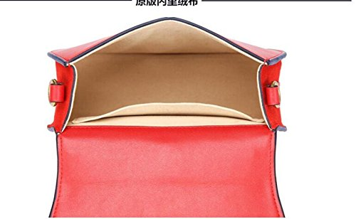 à Paquet Rétro Diagonale Mode à Sac Brown Bandoulière Sacs Totes Sac 21cm Cuir Main De Selle en Cuir WenL Anneaux en qT1xnaxOZt