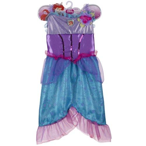 Disney Princess Sparkle Dress - Ariel - Disney Princess Ariel Pink Dress Costume
