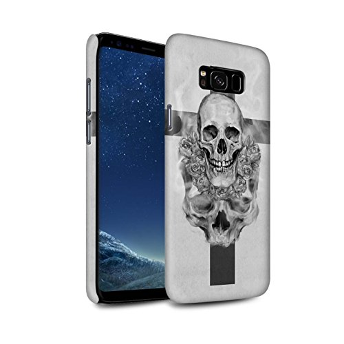 Collection Crucifix (STUFF4 Matte Hard Back Snap-On Phone Case for Samsung Galaxy S8 Plus/G955 / Cross/Crucifix Design / Skull Art Sketch Collection)