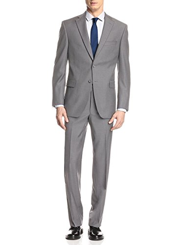 Tropical Wool Suits - GN GIORGIO NAPOLI Presidential Two Button Mens Suit Modern Classic Fit (50 Long US / 60L EU/W 44