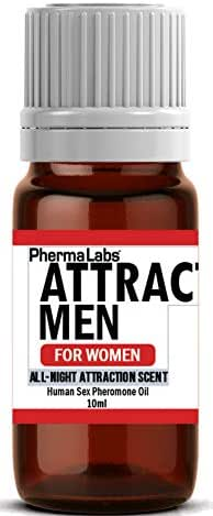 Pheromone Oil to Attract Men (All Night Scent) Human Sex Pheromones for Women 25mg