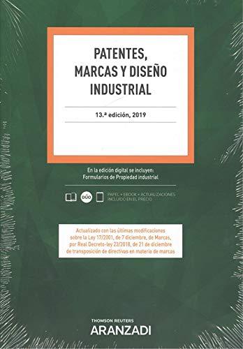 Patentes, Marcas y Diseño Industrial (Papel + e-book) (Código Profesional)