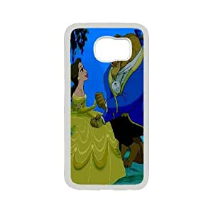 Beauty and The Beast Protective Case For Samsung Galaxy S6 TPUKO-Q-9A886263