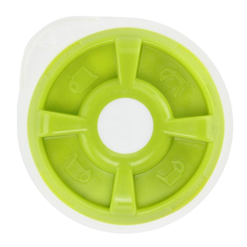 Spares2go Green Hot Water Disc For Bosch Tassimo AMIA T20 Coffee Machine