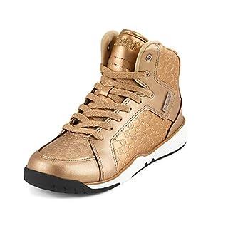 Zumba Women's Street Boss Fashion Athletic Dance Workout Sneakers Shoe, Rose Gold, 8.5 Regular US
