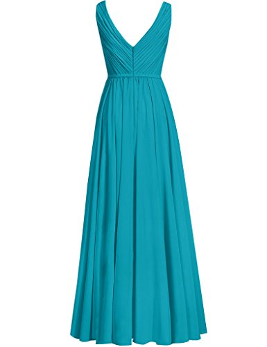 Formal Dresses Cdress Bridesmaid green Lace Wedding Neck Guest Long Prom V Womens Chiffon Lemon rqpwBFqP