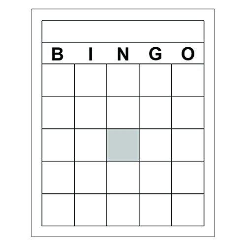 トップノッチ先生製品空白Bingoカード( Set of 6)