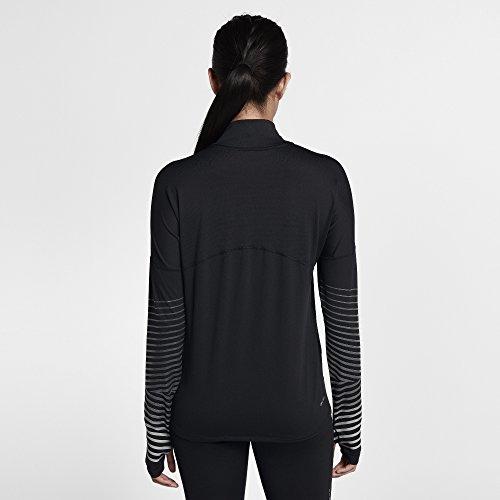 Longues Manches Haut Réfléchissant 010 Nike Femme Anthracite Running 856608 à de Noir 8Uq7C6