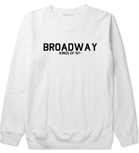 Kings Of NY Broadway NYC New York Crewneck Sweatshirt Medium - Nyc Broadway 9