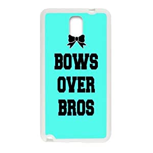 SANYISAN Bows Over Bros White samsung galaxy note3 case