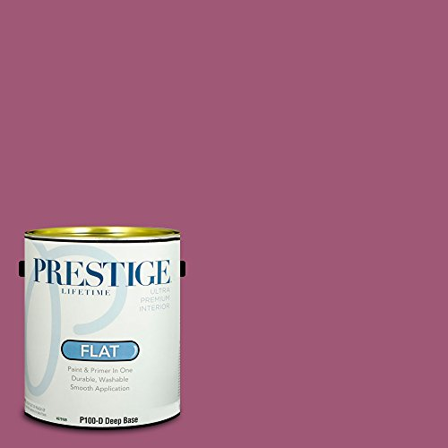 1356 Flat - Prestige Paints Interior Paint and Primer In One, 1-Gallon, Flat,  Comparable Match of Benjamin Moore Fashion Rose