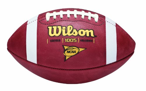 Wilson 1005 NCAA Leather Game Football (Nike College Football compare prices)
