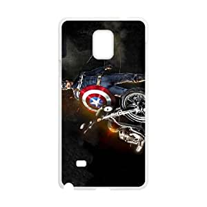 Captain Americ Samsung Galaxy Note 4 Cell Phone Case White Gift pjz003_3268838