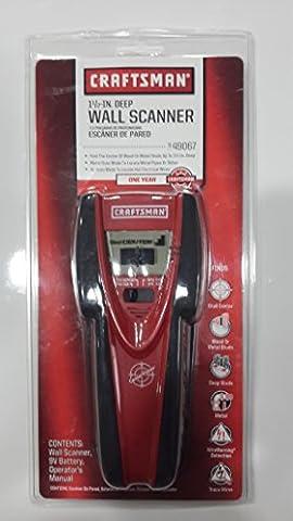 Craftsman 949067 Wall Scanner Stud Finder Wire Tracing 1.5inch - Craftsman Stud Finder