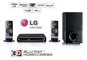 LG HX806CM - Equipo de Home Cinema 2.1 de 400 W (Ethernet, HDMI), negro