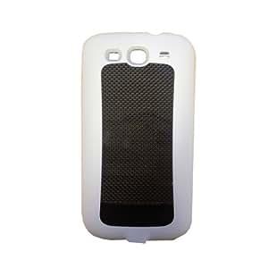 KHOMO: White External Portable Battery Case New Samsung Galaxy S3 III (AT&T, T-Mobile, Sprint, Verizon)