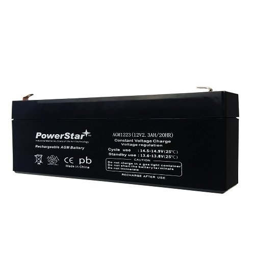 12V 2.3Ah Casil CA1223 DSC Alexor System Replacement Sealed Battery