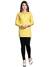 Maple Clothing Kurti Top Tunic Womens Printed Blouse Indian Clothes