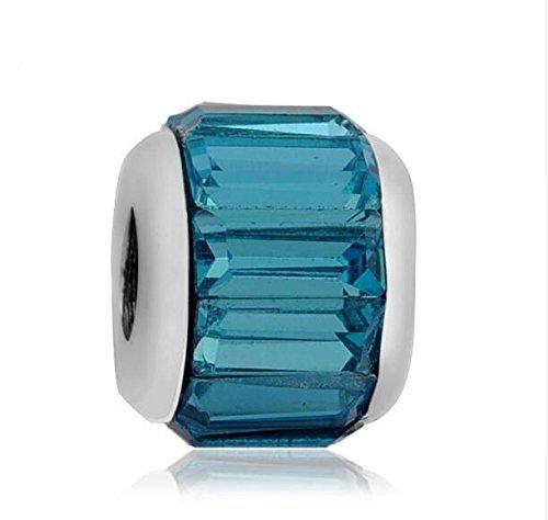 2pcs Charms Beads Fit sterling 925 Necklace European charm Bracelet Chain #Q238 ()