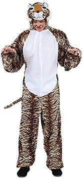 DISBACANAL Traje Disfraz de Tigre para Adulto - -, XL: Amazon.es ...