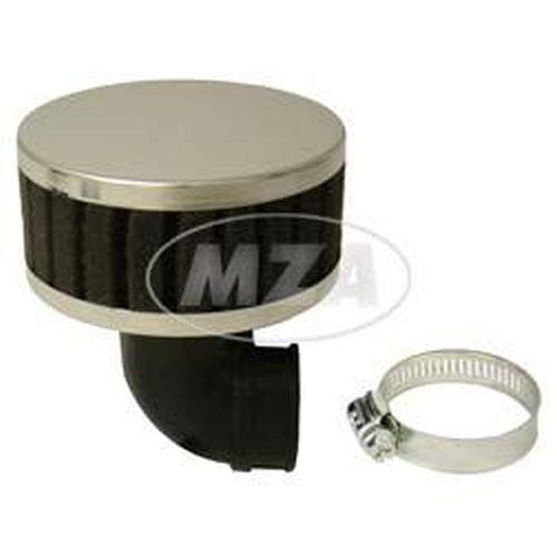 schwarz 90/Â/° abgewinkelt Luftfilter Tuning