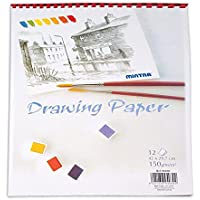 Mintra Plastic Wired Drawing Sketch A3, 12 Sheets