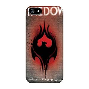 Anti-scratch And Shatterproof Shinedown Phone Case For Iphone 5/5s/ High Quality Tpu Case